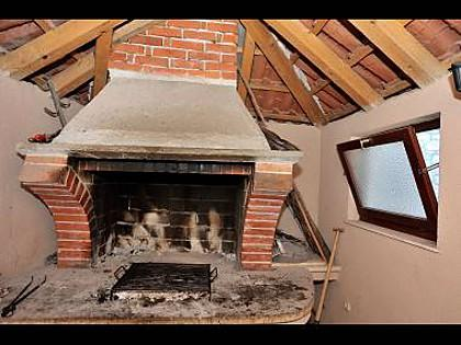 fireplace - 073A01SUPE A1(4+1) - Supetar - Supetar - rentals