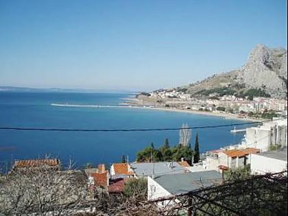 A1(4+2): sea view - 01509OMIS  A1(4+2) - Omis - Central Dalmatia - rentals