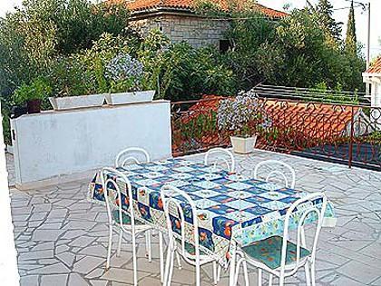 A3(4+1): terrace - 02301SUPE  A3(4+1) - Supetar - Supetar - rentals