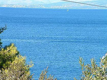 sea view (house and surroundings) - 02502STOM A2-Gornji(4) - Stomorska - Stomorska - rentals