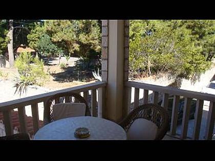 A1 Zeleni(2+2): covered terrace - 004SUTI A1 Zeleni(2+2) - Sutivan - Sutivan - rentals