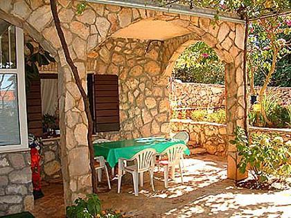 Lijevi(4): garden terrace - 00402NECU Lijevi(4) - Necujam - Necujam - rentals