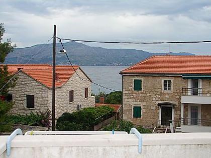 A1(4+2): terrace view - 007POST A1(4+2) - Postira - Postira - rentals
