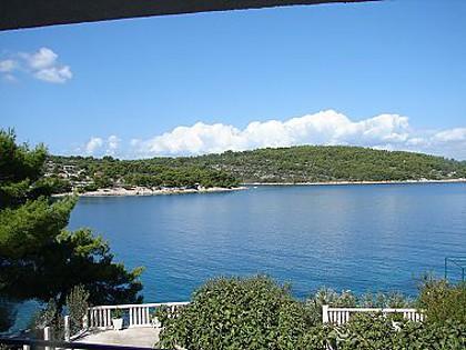 C(2+2): terrace view - 00502NECU C(2+2) - Necujam - Necujam - rentals