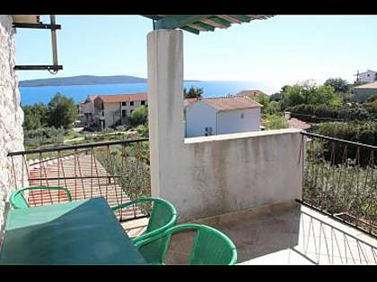 A3(4+1): terrace - 00103ZAVA A3(4+1) - Zavala - Zavala - rentals