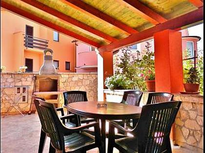 A1 Crveni (6): terrace - 34963  A1 Crveni (6) - Medulin - Medulin - rentals