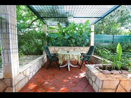 SA2(2): terrace - 35061 SA2(2) - Vrboska - Vrboska - rentals