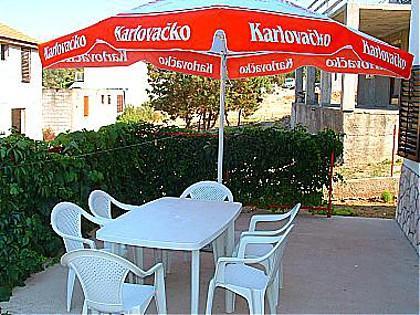 A1(4+1): garden terrace - 00104RUKA A1(4+1) - Cove Rukavac - Rukavac - rentals