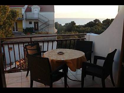 C(4+1): terrace - 35265  C(4+1) - Zecevo - Zecevo - rentals