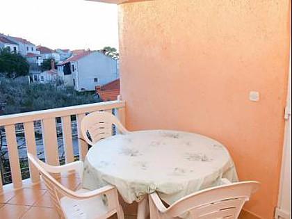 A12(4+2): terrace - 35328  A12(4+2) - Postira - Postira - rentals