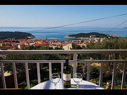 A1(6): terrace view - 35508  A1(6) - Makarska - Makarska - rentals