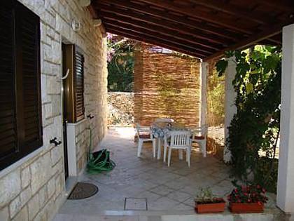 A4(4): terrace - 8273  A4(4) - Supetar - Supetar - rentals