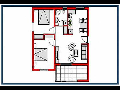 A6(4+2): apartment - 2357  A6(4+2) - Gradac - Gradac - rentals
