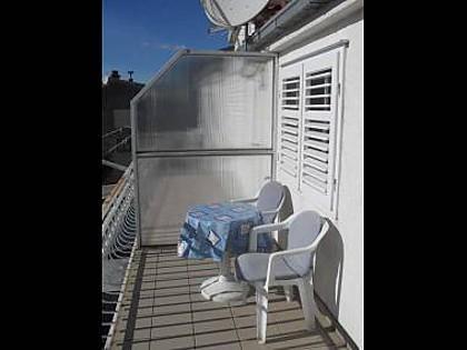 A1(4+1): terrace - 2426 A1(4+1) - Makarska - Makarska - rentals