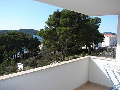 Tamaris(4+2): terrace view - 2422 Tamaris(4+2) - Milna (Brac) - Milna (Brac) - rentals