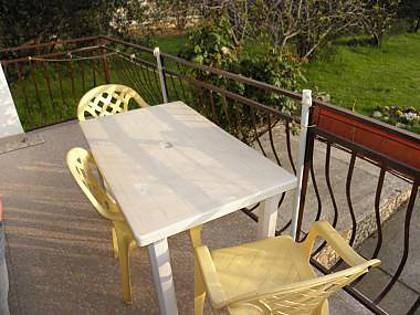 SA2(4): terrace - 2452 SA2(4) - Bibinje - Bibinje - rentals