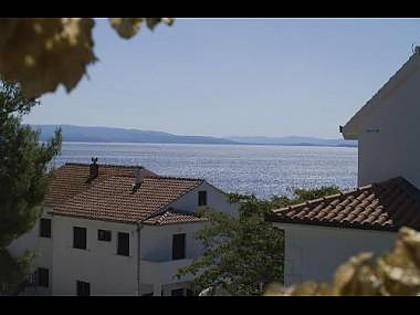 3A(2+3): terrace view - 2459 3A(2+3) - Okrug Gornji - Okrug Gornji - rentals