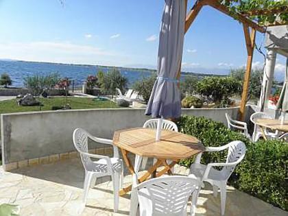 A2 Plavi (2+2): sea view - 2617  A2 Plavi (2+2) - Zaton (Zadar) - Zaton (Zadar) - rentals