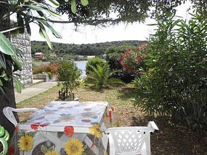 SA1(2+1): terrace view - 2679 SA1(2+1) - Soline (Dugi otok) - Verunic - rentals