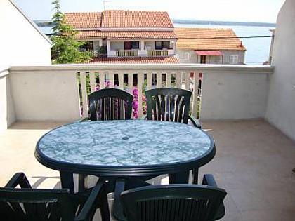 A2 lijevi(5): terrace view - 2683 A2 lijevi(5) - Tkon - Tkon - rentals