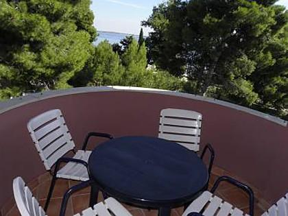 A13(2+2): terrace - 2710 A13(2+2) - Vir - Vir - rentals