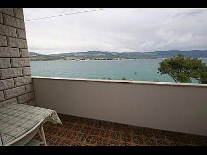 A2(5): balcony view - 2804  A2(5) - Arbanija - Arbanija - rentals