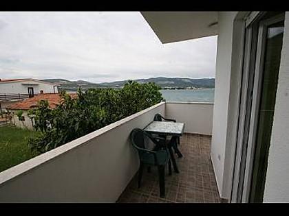 A1(4): balcony - 2804  A1(4) - Arbanija - Arbanija - rentals