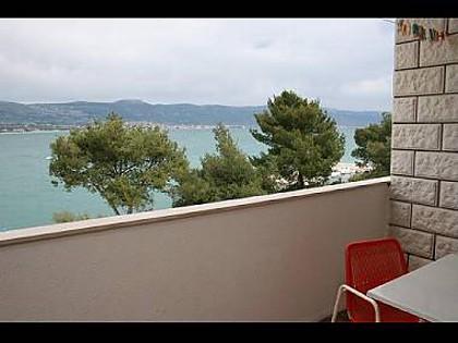 A3(4): balcony view - 2804  A3(4) - Arbanija - Arbanija - rentals