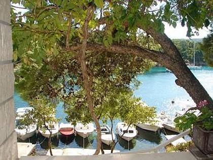A1 mali(2+1): balcony view - 2845  A1 mali(2+1) - Primosten - Primosten - rentals