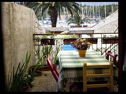 A1(4+2): terrace - 2857 A1(4+2) - Milna (Brac) - Milna (Brac) - rentals
