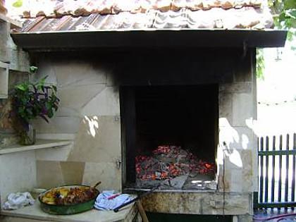 A1 Prizemlje (4+2): fireplace - 2908  A1 Prizemlje (4+2) - Slatine - Slatine - rentals
