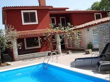 swimming pool (house and surroundings) - 2918 A1 Jasen(4) - Krnica - Krnica - rentals