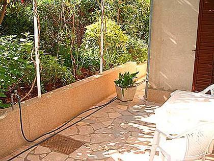 A1-Mali(2): garden terrace - 01003STAR A1-Mali(2) - Stari Grad - Stari Grad - rentals
