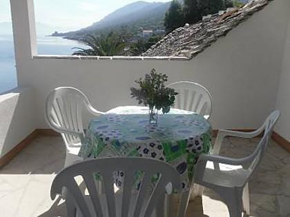 A1(2+1): terrace - 3099 A1(2+1) - Cove Zarace (Gdinj) - Pokrivenik - rentals