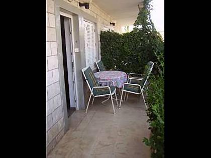 A1(4): terrace - 01303JELS A1(4) - Jelsa - Jelsa - rentals