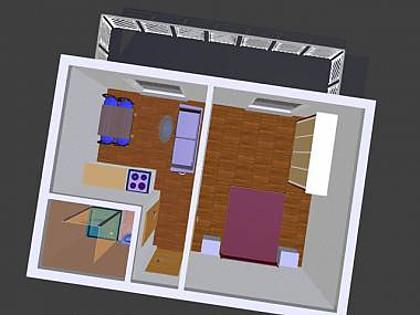 A Jedro(3): floor plan - 3512 A Jedro(3) - Tucepi - Tucepi - rentals