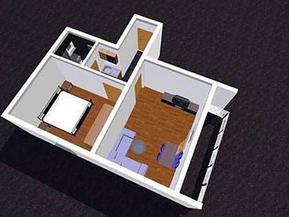 A Sidro(2+2): floor plan - 3512 A Sidro(2+2) - Tucepi - Tucepi - rentals