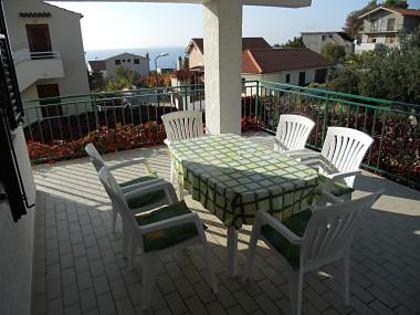 A1(6): terrace - 3609  A1(6) - Primosten - Primosten - rentals