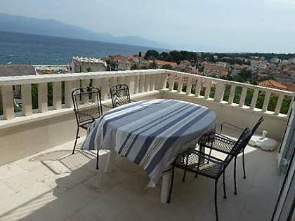A1(4+1): terrace - 3834 A1(4+1) - Sutivan - Sutivan - rentals