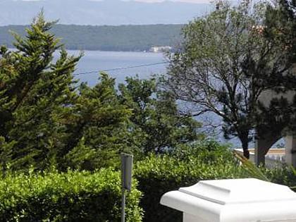A1(2+2): terrace view - 4205  A1(2+2) - Malinska - Malinska - rentals