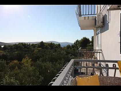 A1(4): terrace view - 4316 A1(4) - Milna (Brac) - Milna (Brac) - rentals