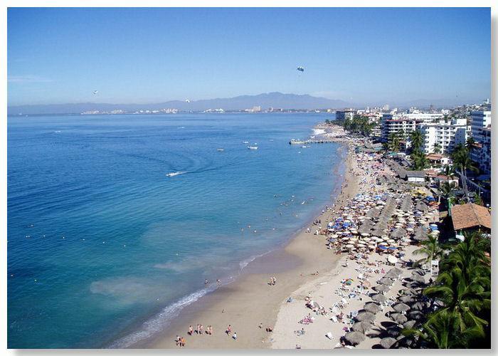 View of Los Muertos Beach - El Dorado 404 - Puerto Vallarta - rentals