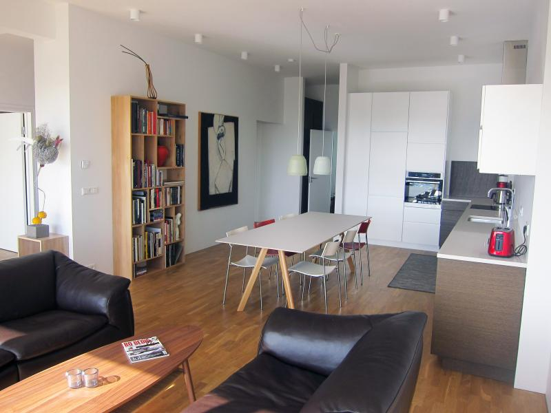 Living room - Harbour Luxury View - Reykjavik - rentals