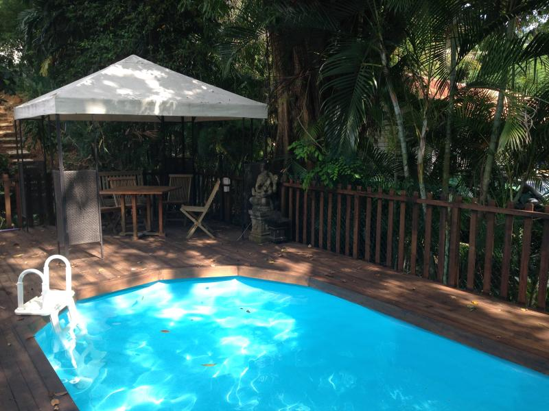 Guestroom in Beautiful Resort Style Pool Villa near CBD - Image 1 - Singapore - rentals