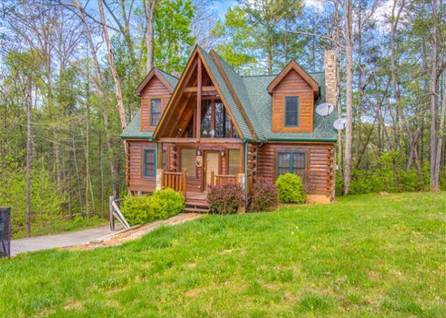Luxury 3BR Gatlinburg Cabin - Sleeps 10. SUMMER SPECIAL FROM $159!!! - Image 1 - Gatlinburg - rentals