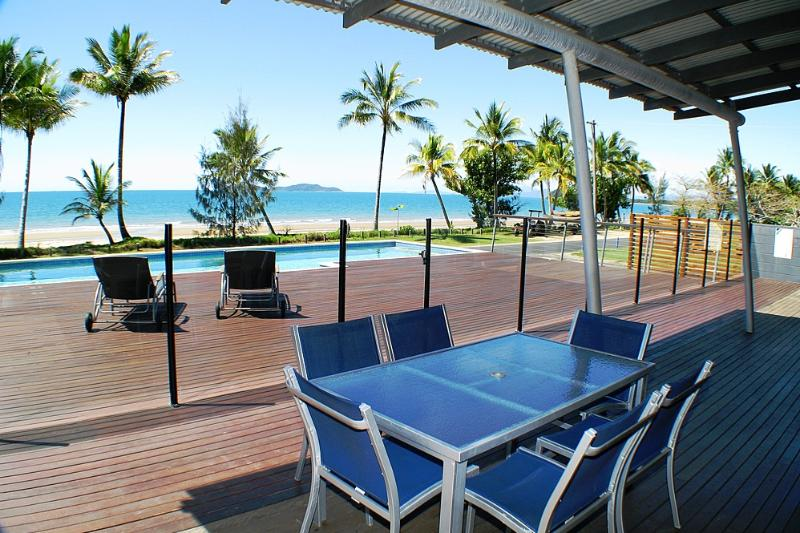 Bella's Beach House-View from Verandah  - Bella's Beach House - Mission Beach - rentals