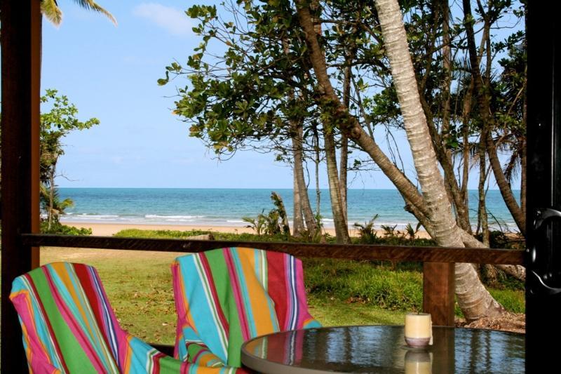 Bella Coola - Tofino - View from Verandah  - Bella Coola - Tofino - Mission Beach - rentals