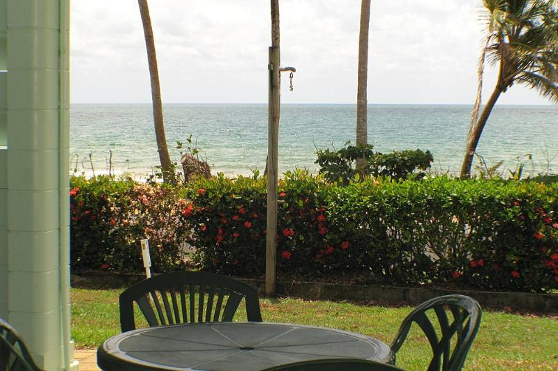 San Roy 1 - View to Beach - San Roy 1 - Mission Beach - rentals