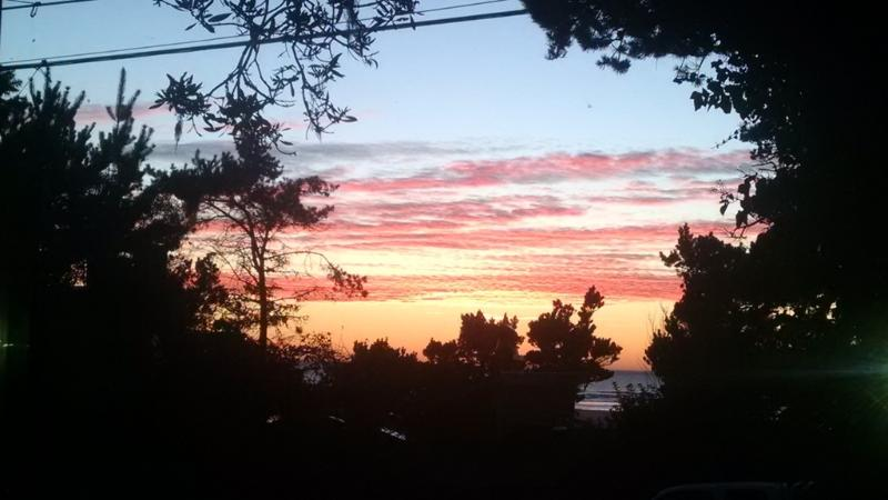 Sunset view from the living room window - Netarts Pearl - Netarts - rentals