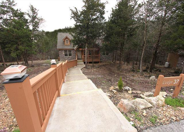 Lazy Pines Lodge - Lazy Pines Lodge- 2 Bedroom, 2 Bath, Pet Friendly Stonebridge Cabin - Branson West - rentals